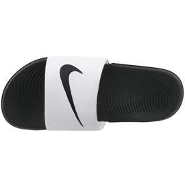 Pantofole Nike Kawa Slide Gs / Ps 819352-100 bianco