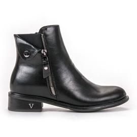 Nero Stivali con cerniera VINCEZA