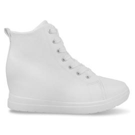 Bianco Sneakers alla moda semplici GFA97 bianche