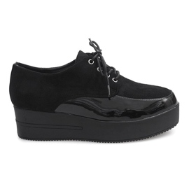 Stivali Creepers On Platform MJ1358 Nero