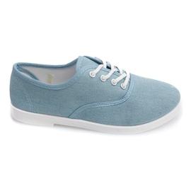 Sneakers basse C91 blu