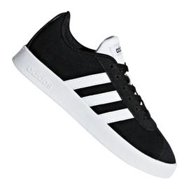 Nero Scarpe Adidas Vl Court 2.0 Jr DB1827