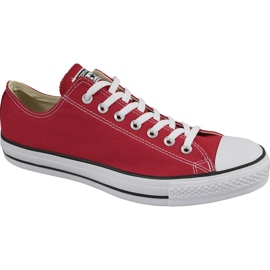 Rosso Scarpe Converse C. Taylor All Star Ox Optical Red M M9696