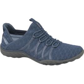 Le scarpe Skechers Breathe Easy W 23048-SLT blu