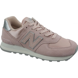 Calzature New Balance in WL574OPS rosa