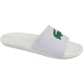 Pantofole Lacoste Croco Slide 119 1 M 737CMA0018082 bianco