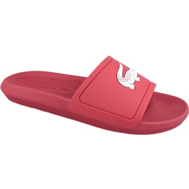 Pantofole Lacoste Croco Slide 119 1 M 737CMA001817K rosso