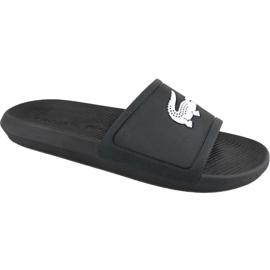 Pantofole Lacoste Croco Slide 119 1 M 737CMA0018312 nero