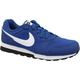 Scarpe Nike Md Runner 2 Gs Jr 807316-411 blu