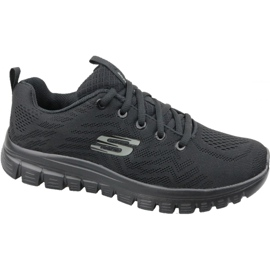 Scarpe Skechers Graceful Get Connected W 12615-BBK nero