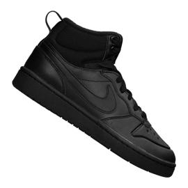 Stivale Nike Court Borough Mid 2 (GS) Jr BQ5440-001 nero