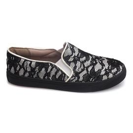 Sneaker senza lacci Slip Lace Q10 Bianco