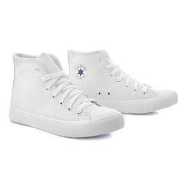 Bianco Sneakers alte TL11 bianche