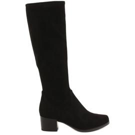 Nero Stivali da donna neri elasticizzati Caprice 25506