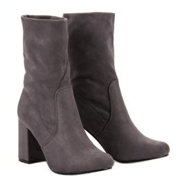 Super Mode Stivaletti alla caviglia grigio