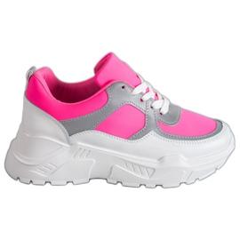 Ideal Shoes Calzature sportive al neon