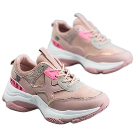 SHELOVET Scarpe sportive alla moda rosa