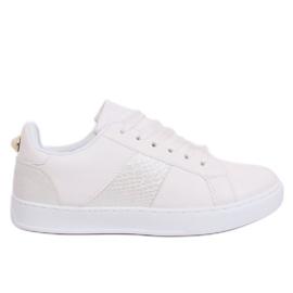 Sneakers bianche da donna bianche X93 bianco