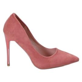 Cm Paris Perni scamosciati rosa