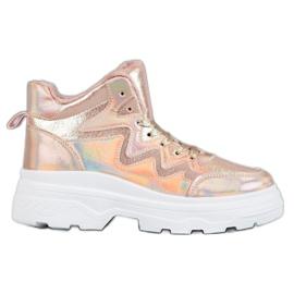 Seastar rosa Sneakers isolate