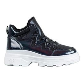 Seastar nero Sneakers isolate