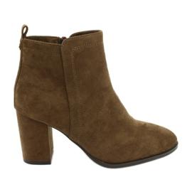 Marrone Stivali cammello Sergio Leone 520