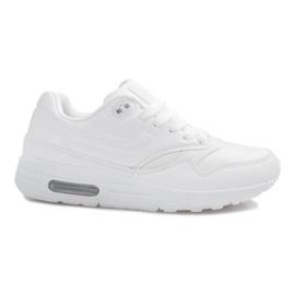Calzature sportive bianche bianco