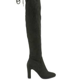 Nero Stivali al ginocchio Filippo 996 neri