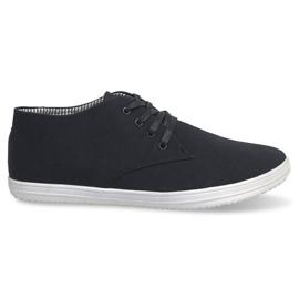 Nero Sneakers alte alla moda 3232 nere