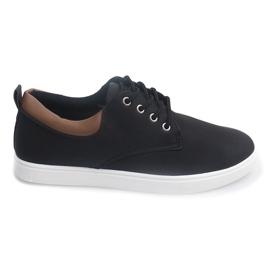 Nero Sneakers casual da uomo 655 Nere