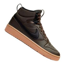 Scarpe Nike Court Borough Mid 2 Boot (GS) Jr BQ5440-200 nero