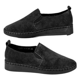 Filippo nero Sneakers in pelle Slip On