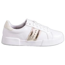 Bestelle bianco Scarpe sportive bianche