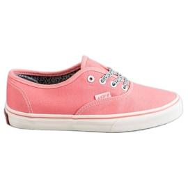 SHELOVET Sneakers comode rosa