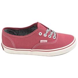 SHELOVET rosso Sneakers comode