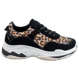 Kylie Sneaker con stampa leopardo