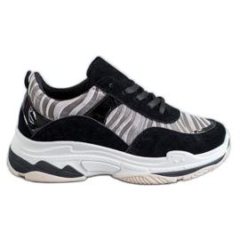 Kylie Sneaker con stampa zebrata