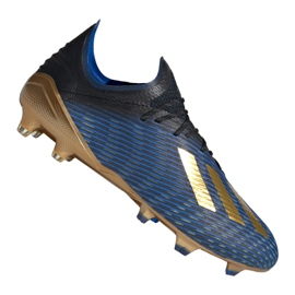 Adidas X 19.1 Fg M F35313 blu scuro