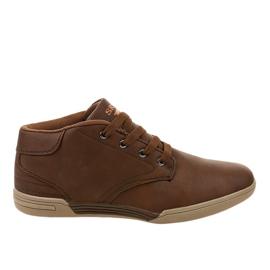 Sneakers da uomo marroni 15M787 marrone