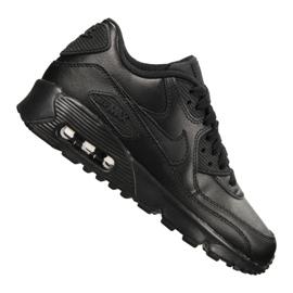 Scarpe Nike Air Max 90 Ltr Gs Jr 833412-001 nero