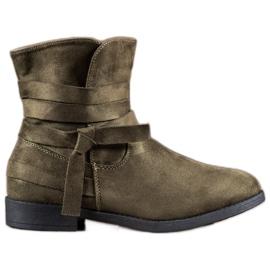 Seastar verde Boots On Flat Heel