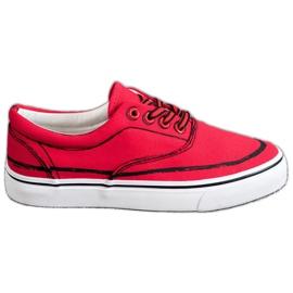 Bestelle rosso Scarpe da ginnastica alla moda