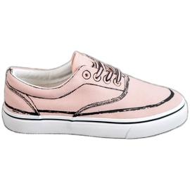 Bestelle rosa Scarpe da ginnastica alla moda