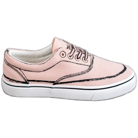 Bestelle Scarpe da ginnastica alla moda rosa