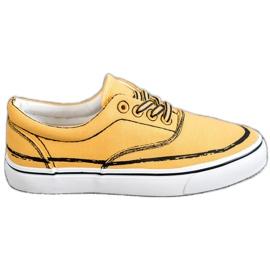 Bestelle giallo Scarpe da ginnastica alla moda