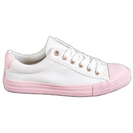 EXQUILY bianco Sneakers colorate