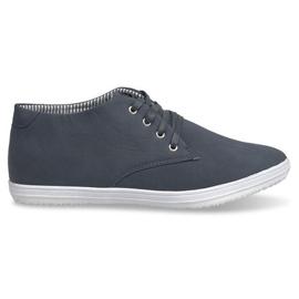 Marina Sneakers alte alla moda 3232 Navy