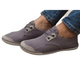 Sneakers stringate Lycra 1603 Grigio