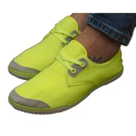 Sneakers stringate Lycra 1603 Giallo