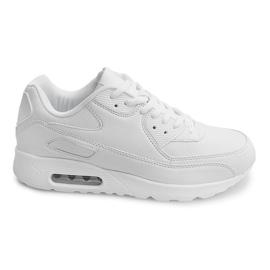 Bianco Sneakers sportive Z2140 bianche